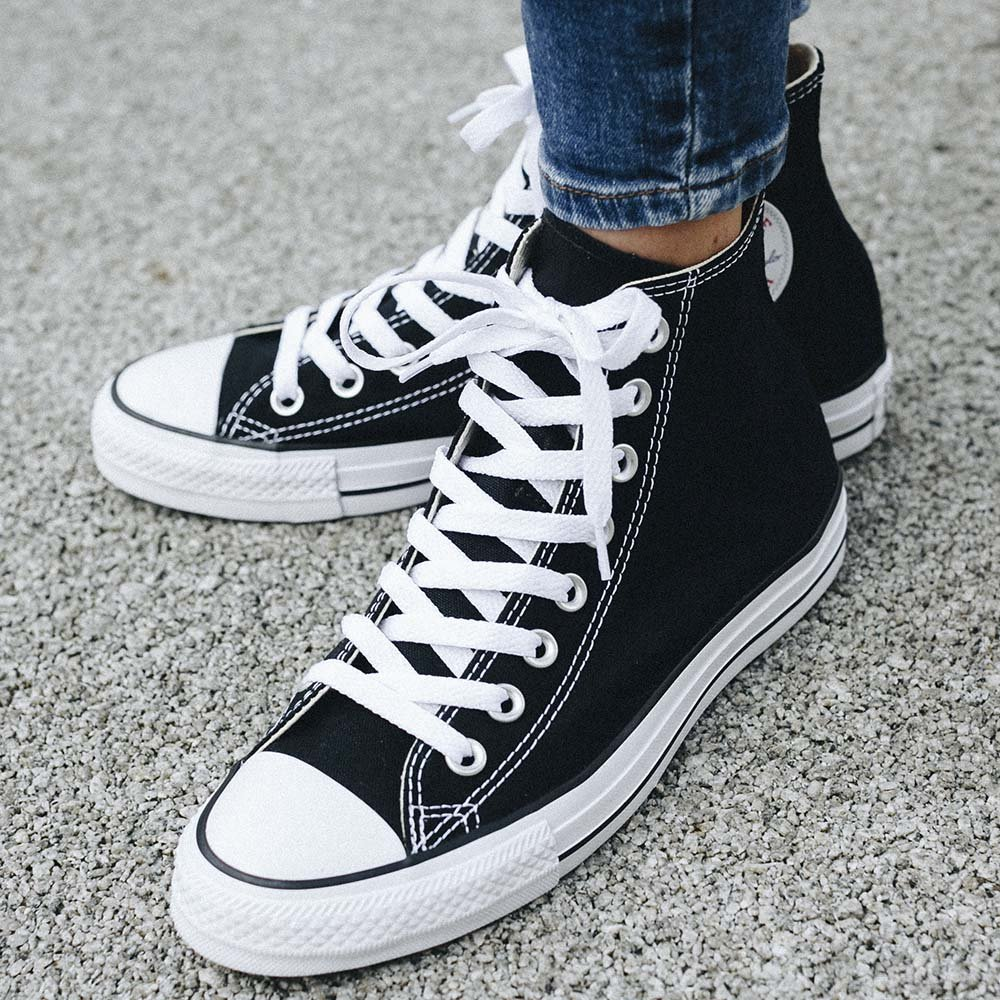 converse all star czarne